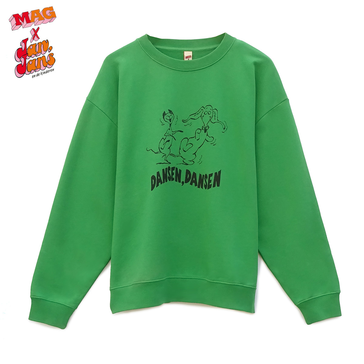 8802 Dansen Dansen Lime-Green
